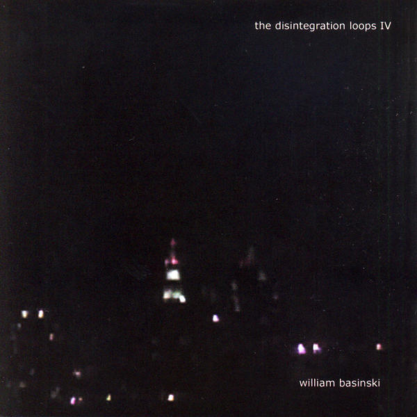 "William Basinski - The Disintegration Loops IV Big fan of this guy, beautiful ambient music. I believe the tunes from this album are made from field recordings of New York City.  Edit - From a friend of ""R"":  ""He found the tapes disintergrating so recorded the mess befor he lost it  all. He was doing this as the twin towers fell, it was his soundtrack  watching it happen from his apartment… or so the marketing blurb says."""