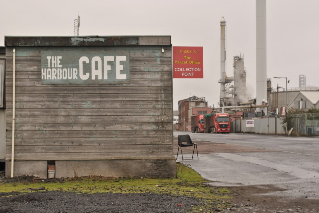 Harbour Cafe, Dundee Docks, Tayside, Scotland