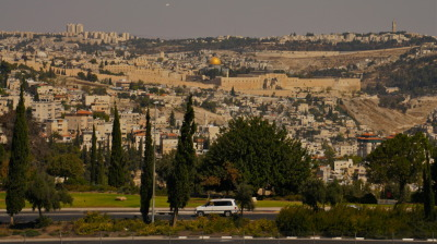 View from my new apartment :D Shalom Jerusalem
