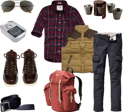 Garb: Take A Hike, Fjällräven Vintage Backpack