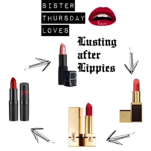 Lusting after Lippes by jessicagry on polyvore.comYves Saint Laurent Rouge Pur Couture Pure Color Lipstick Spf 15, $30Tom Ford Private Blend Lipstick True Coral One Size, $48NARS Pago Pago Lipstick, $24Violent Lips The Red Love Health & Beauty | HQHair.com, £11