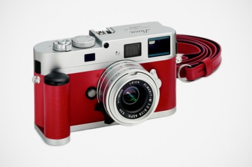 oliphillips:  Leica M9-P Red Leather Edition Leica Japan will soon release 30 limited edition M9-P red leather cameras