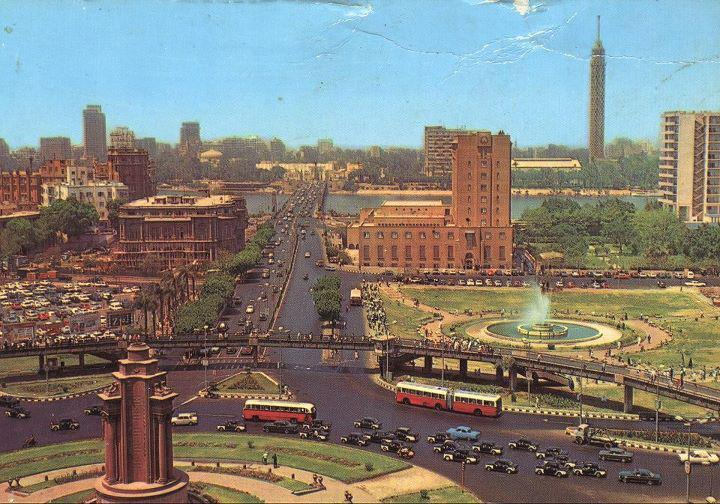 #Tahrir Square in the 70s. Cairo, Egypt.