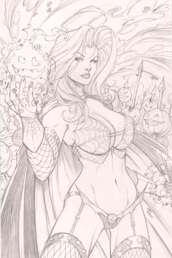 Lady Death by ~SquirrelShaver