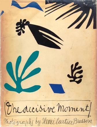 The Decisive Moment, 1952 Henri Cartier-Bresson. Cover by Magritte.Simon and Schuster, New York.via photobibliothek.ch