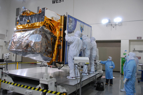 NASA Readies New Type of Earth-Observing Satellite for Launch NASA is planning an Oct. 27 launch of the first Earth-observing satellite to measure both global climate changes and key weather variables. The National Polar-orbiting Operational Environmental Satellite System Preparatory Project (NPP) is the first mission designed to collect critical data to improve weather forecasts in the short-term and increase our understanding of long-term climate change. NPP continues observations of Earth from space that NASA has pioneered for more than 40 years. Read more.
