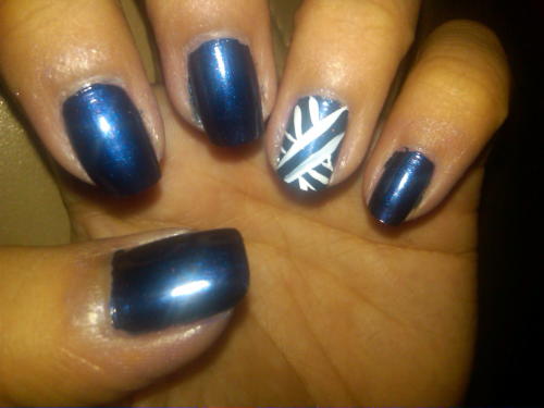 Russian navy blue