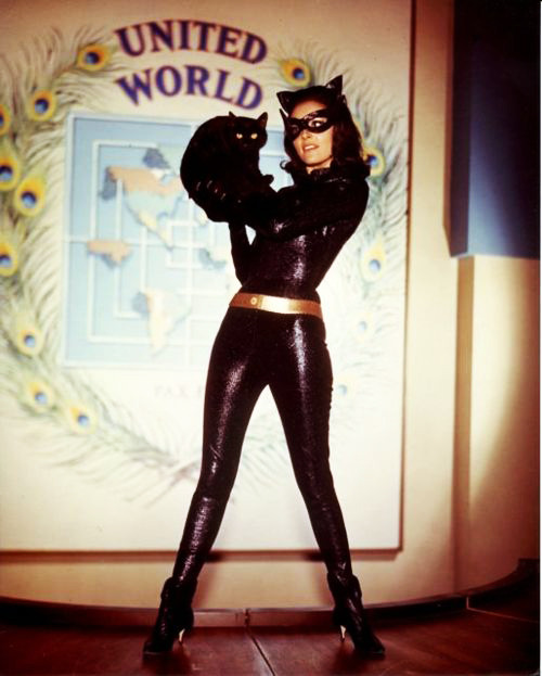 Lee Meriwether as Catwoman in the Batman film 1966