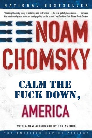 Noam Chomsky: Hegemony or Survival Reader Submission: Title and Redesign by AHigherLevel.