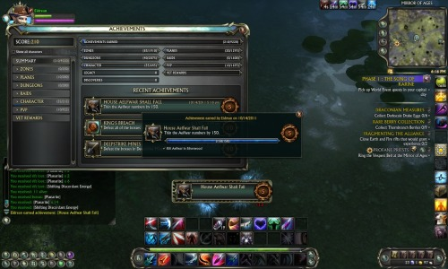 Eldrean: I earned this achievement: House Aelfwar Shall Fall! #Rift