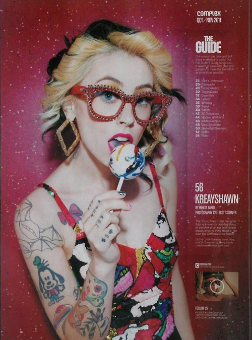 Columbia Records News, Check out Kreayshawn's FULL Cover ...