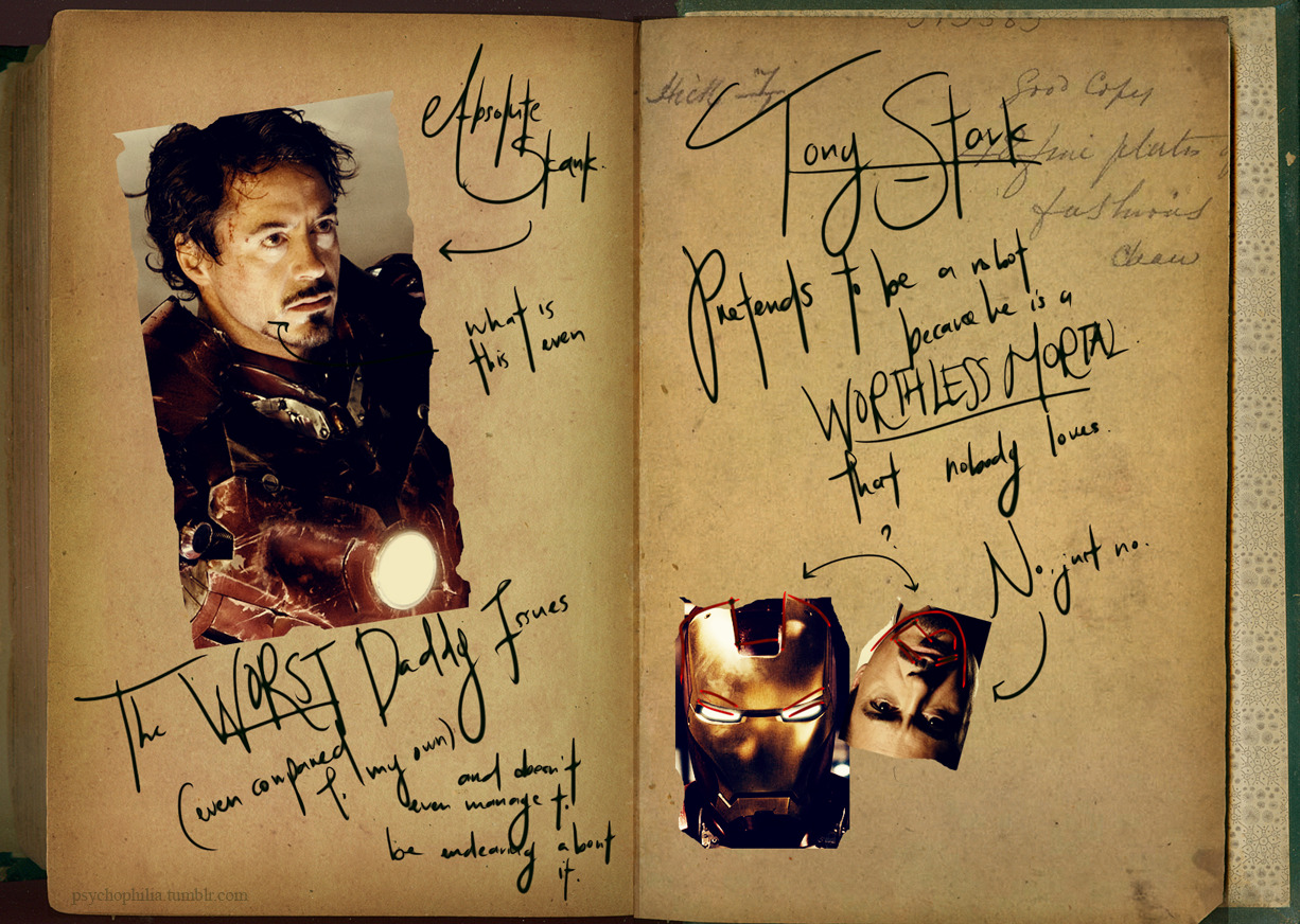 psychophilia:  Loki's Burn Book: The Avengers High ResCover Tony Stark Steve Rogers & Natasha Romanova Bruce Banner & Clint Barton Thor So, yes. I got this terrible idea on a whim, and proceeded to open Photoshop. It is now 6AM and I have no idea what I have done. My many thanks to pyromancers, who aided and encourages my endeavours for some reason. Sob.  Love this.