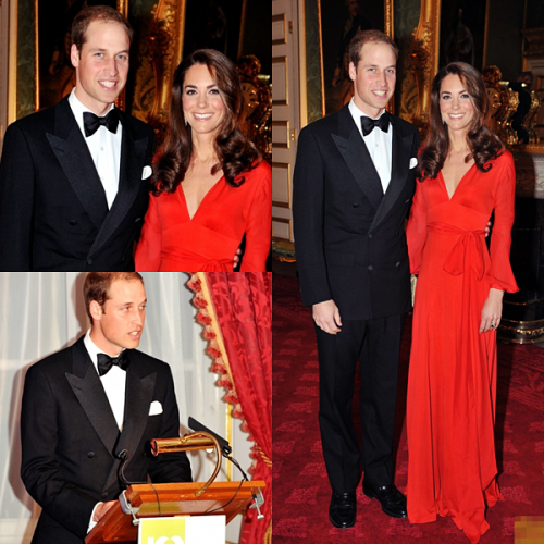 October 13th, 2011 - Charity Dinner at St. James's Palace.
