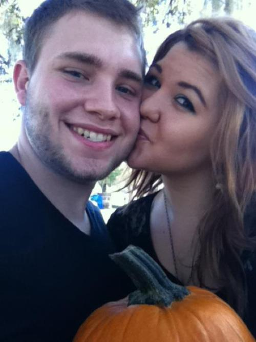 We went pumpkin hunting today! :D