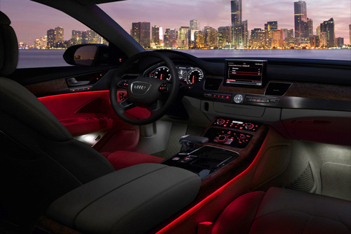 2011 Audi A8 x Ambient Lighting