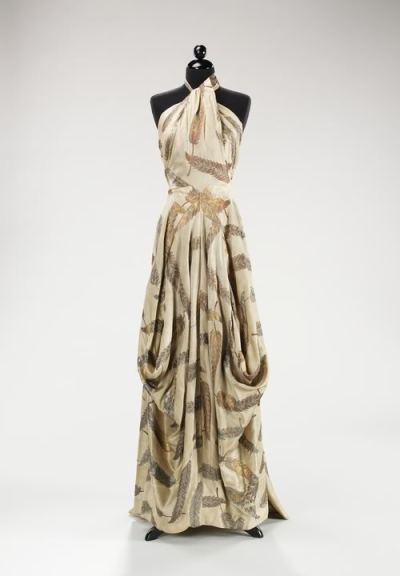 Charles James (one of the very best, in my humble, fashion-loving opinion) Evening Gown, Met Museum, 1936