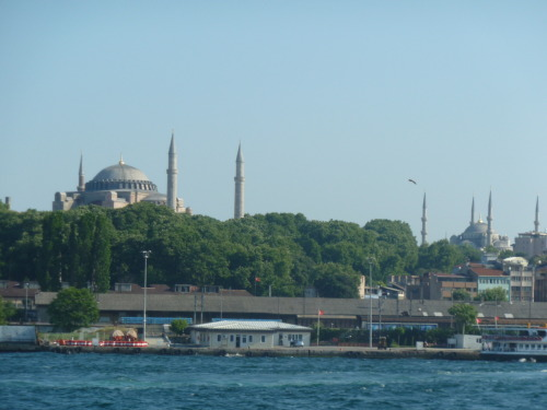 Istanbul, the pearl of the Bosphorous.