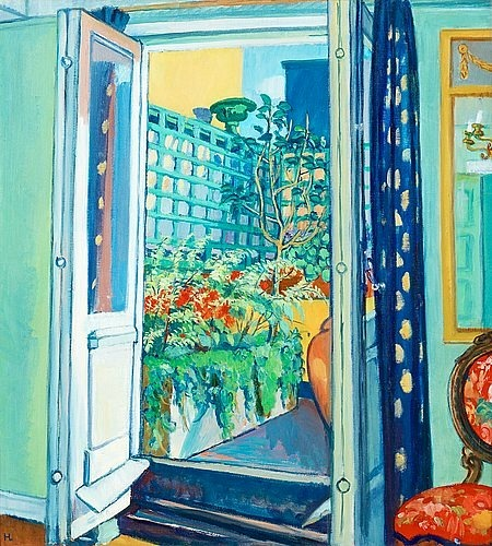 Hilding Linnqvist The Terrace 1945-49
