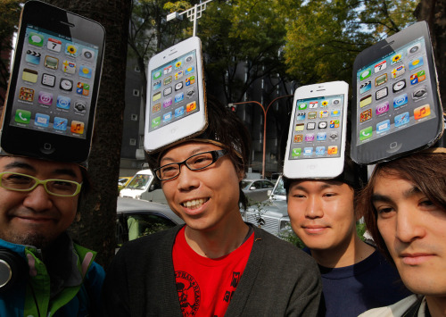 (via iPhone 4S Launch: The Day's Must-See Photos | Gadget Lab | Wired.com)