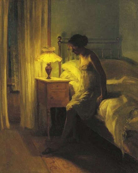 stilllifequickheart:  Peter Vihelm Ilsted In the Bedroom 1901