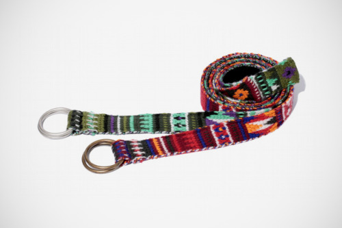 Native Patterns are coming back. Swagger tribal ring belt.