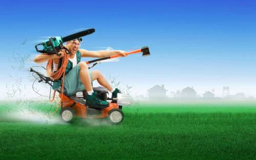 Environmentalists Battle Lawn Mowing Environmentalists are up in arms and going to court to try to prevent the mowing of grass taking place around the future site of the Keystone XL Pipeline, an oil pipeline connecting Alberta, Canada with Gulf Coast refineries.