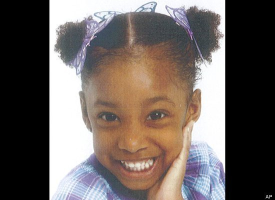 deliciouskaek:  5 year old Jahessye Shockley missing since Tuesday, 10/11/11:  Police also set up a separate phone line for the case and received a couple dozen tips by Thursday. The number is 623-930-4357. Police said Jahessye is a black girl with brown eyes. She's 3 feet, 5 inches tall and weighs 55 pounds and was last seen wearing a plain white shirt, blue jean shorts and pink sandals. One woman reported seeing a girl matching Jahessye's description wandering around the Glendale, AZ neighborhood before being pulled into a black sedan through the passenger door.  Please reblog.