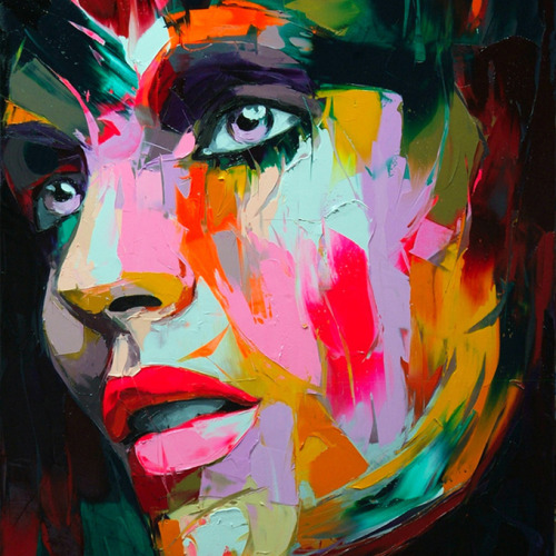 mounts:  by Francoise Nielly.