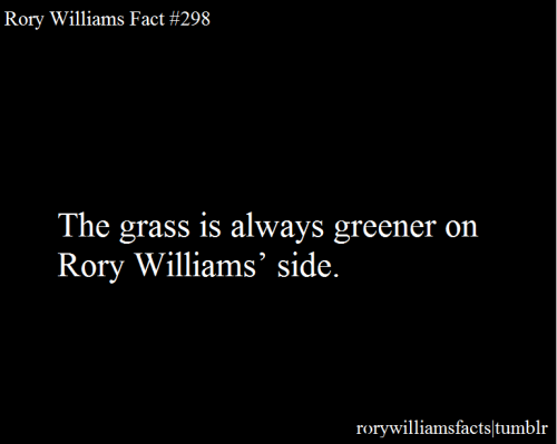 rorywilliamsfacts:  Submitted by becc0o.