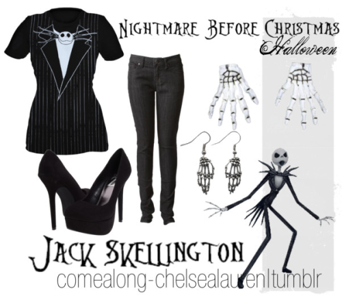 Jack Skellington | The Nightmare Before Christmas - femme / halloween - Click here!