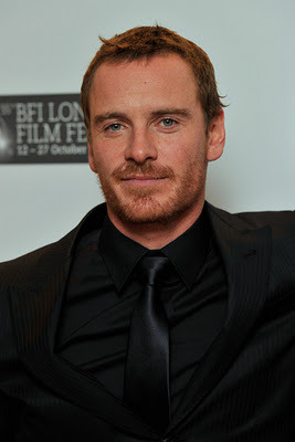 Michael Fassbender at the London Film Festival premier of Shame.