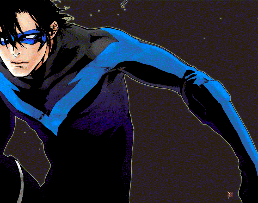 thesidekickcomplex:  Nightwing by 89g