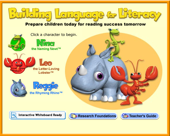 Building Language for Literacy 3 nice games for beginning readers from Scholastic. #elemchat #spedchat #literacy #primary Interactive Whiteboard ready. For more IWB options from Scholastic click here.