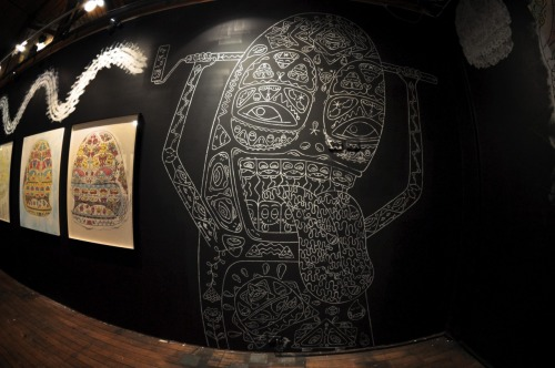 yesandnever:STABS liteworks exhibition @ Backwoods Collingwood