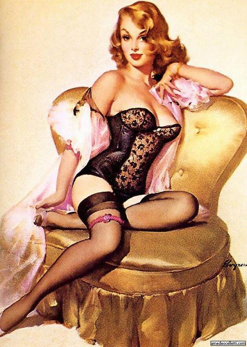 theneverendingteaparty:  Gil Elvgren, one of my all time favourite artists.