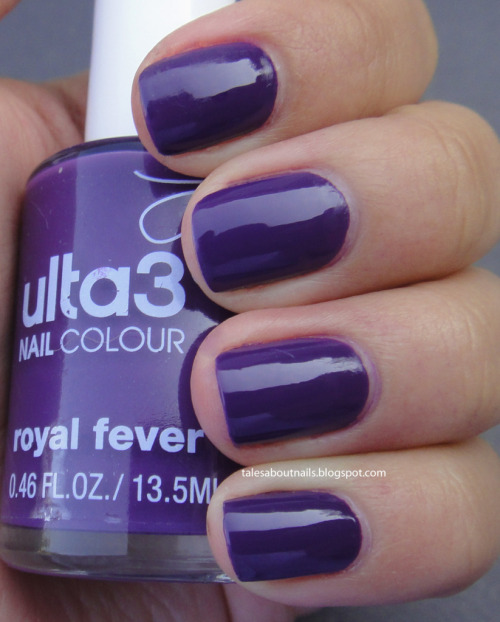 "Click on the picture for a review of Ulta3 ""Royal Fever"". www.talesaboutnails.blogspot.com"