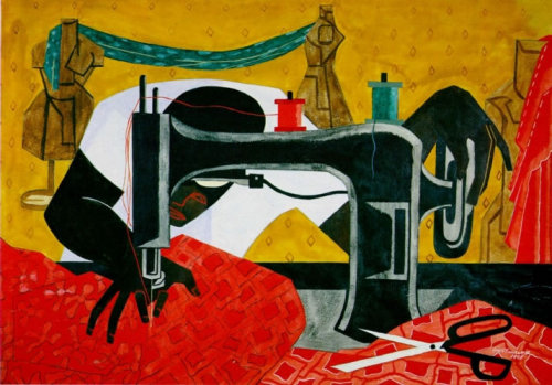 myeyeslikethis:  Jacob Lawrence