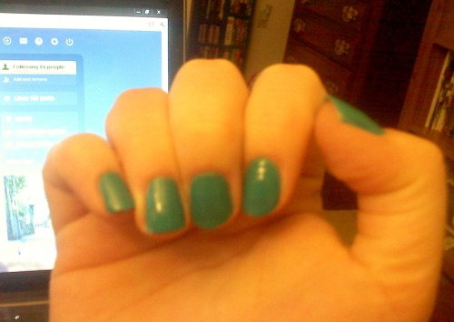 Painted my nails.
