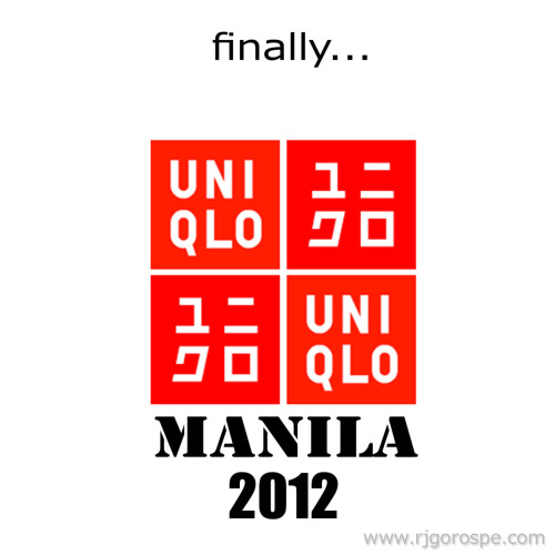 UNIQLO MANILA. Finally!!!