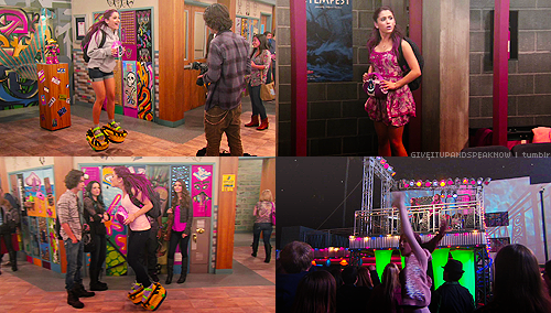 Victorious Screencaps → Jade Gets Crushed ☇ Bouncy Cat