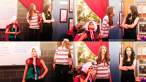Victorious Screencaps → Helen Back Again ☇ Tori, Jade & their red-headed baby
