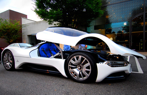 topnotchswag:  What the shit.    Nice car I want to take a ride in it