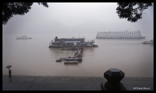 Yangtze river.Yichang, China. 2009.