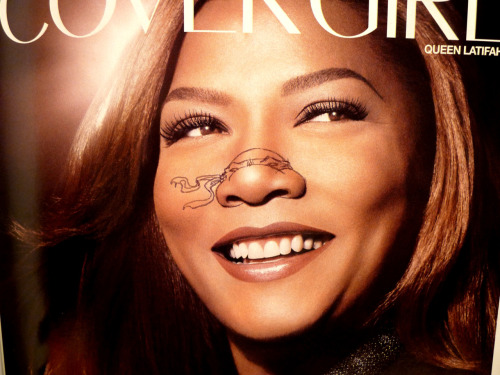 Queen Latifah Teenage Mutant Ninja Nose