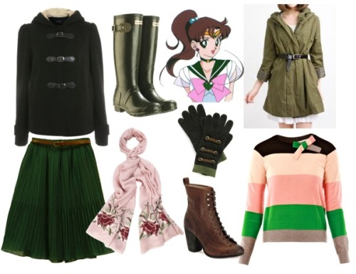 Sailor Jupiter/Kino Makoto Fall style inspiration!  + more sets