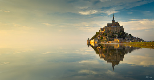 """Mont Saint-Michel "" by Duc De Salier"