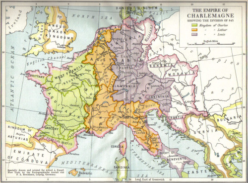 acidadebranca:  Charlemagne Empire via