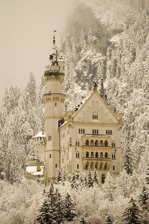 fuckyeahcastles:  Neuscwanstein Castle, Germany