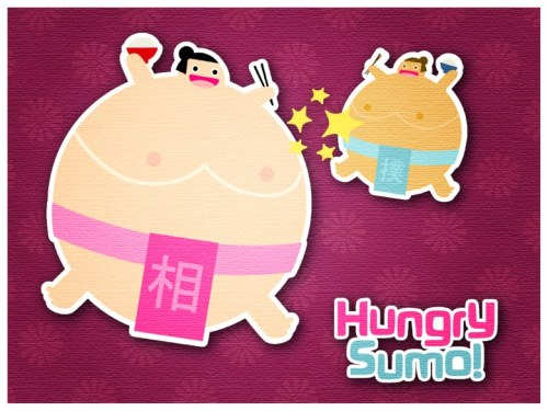 Hungry Sumo iPhone/iPad Game