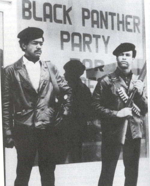 This day in history: The Black Panther Party is founded in Oakland, California by Huey P. Newton and Bobby Seale. October 15, 1966 - 45 years ago today.